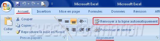 Excel Passer A La Ligne Dans Une Cellule Fiche Cyber Technologie