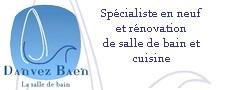 Entreprise artisanale 56 Danvez-Baen Salle de bains et cuisine Neuf et rénovation